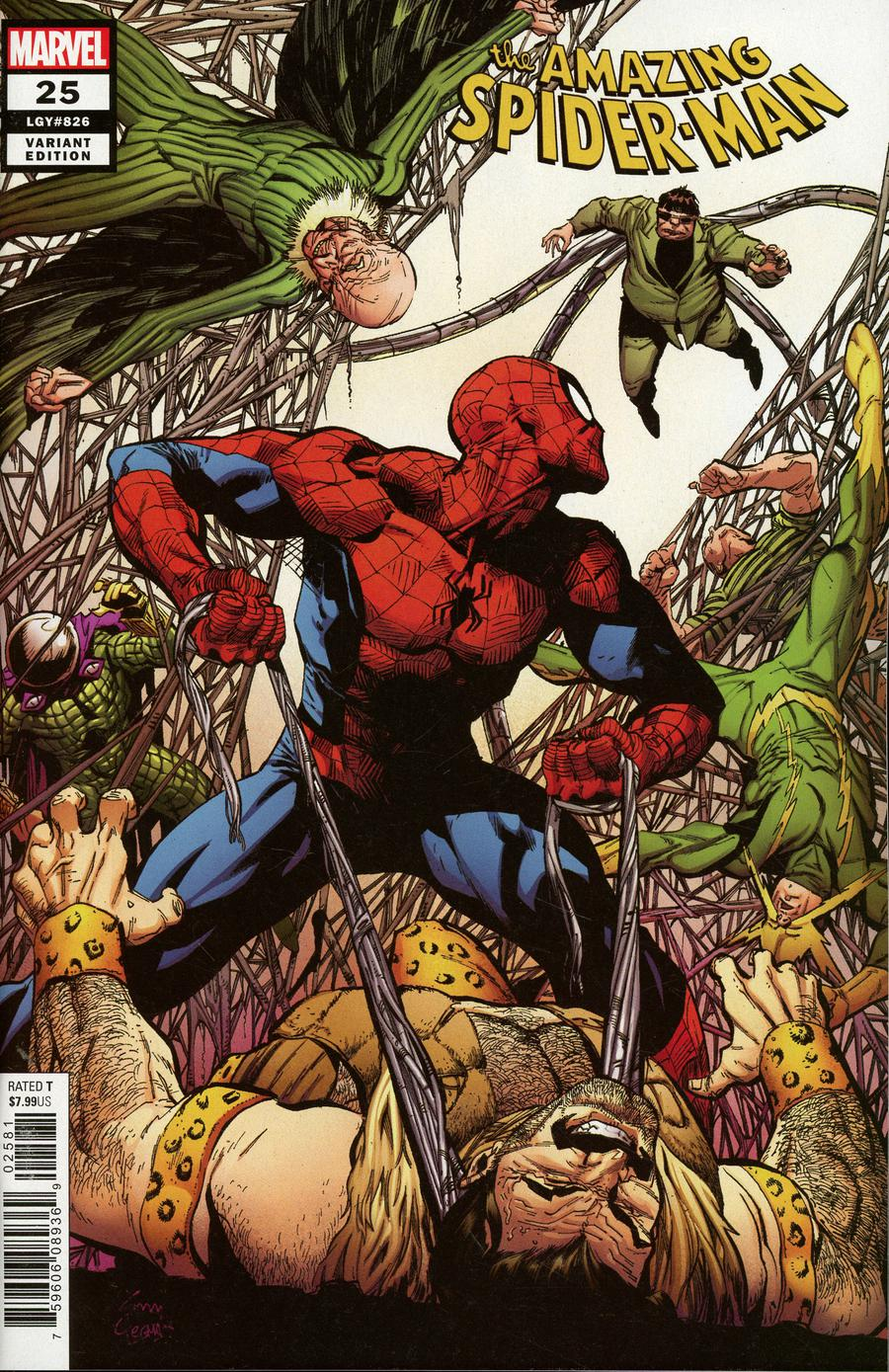 Amazing Spider-Man Vol 5 #25 Cover J Incentive Ryan Stegman Variant Cover
