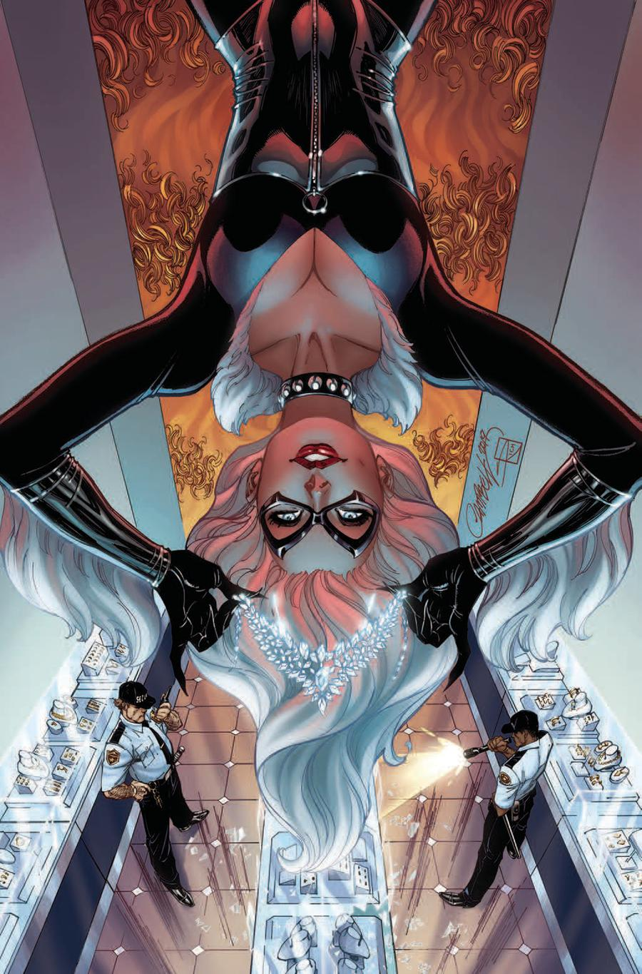 Black Cat #2 Cover D Incentive J Scott Campbell Virgin Cover