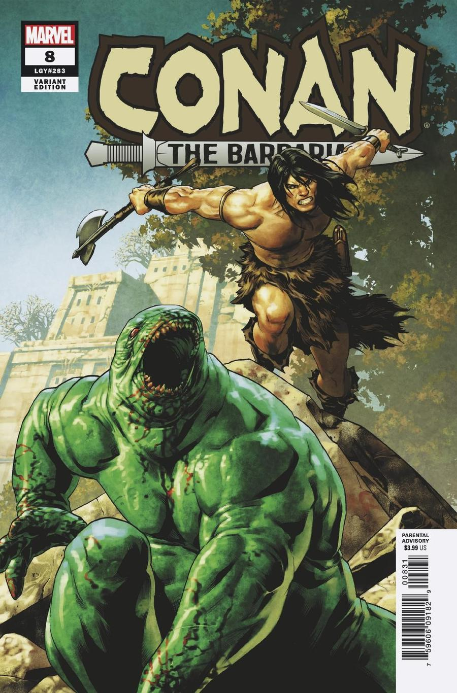 Conan The Barbarian Vol 4 #8 Cover C Incentive Jesus Saiz Variant Cover