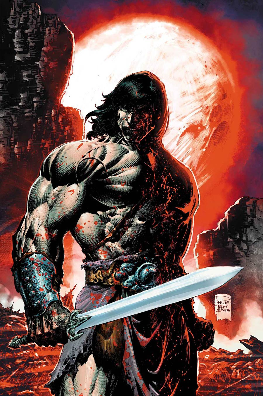 Savage Sword Of Conan #7 Cover B Incentive Philip Tan Variant Cover