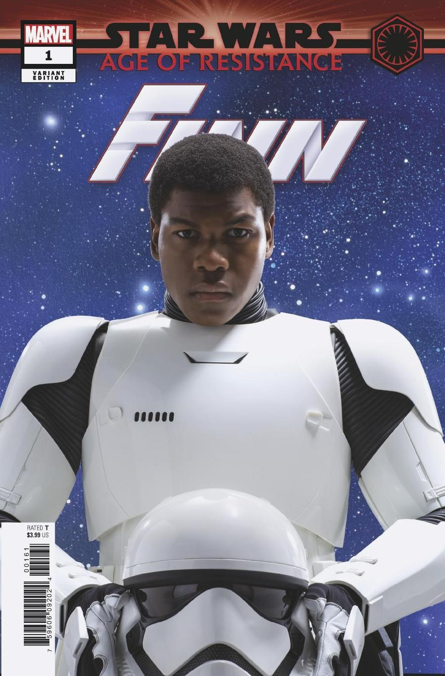 Star Wars Age Of Resistance Finn #1 Cover E Incentive Movie Variant Cover