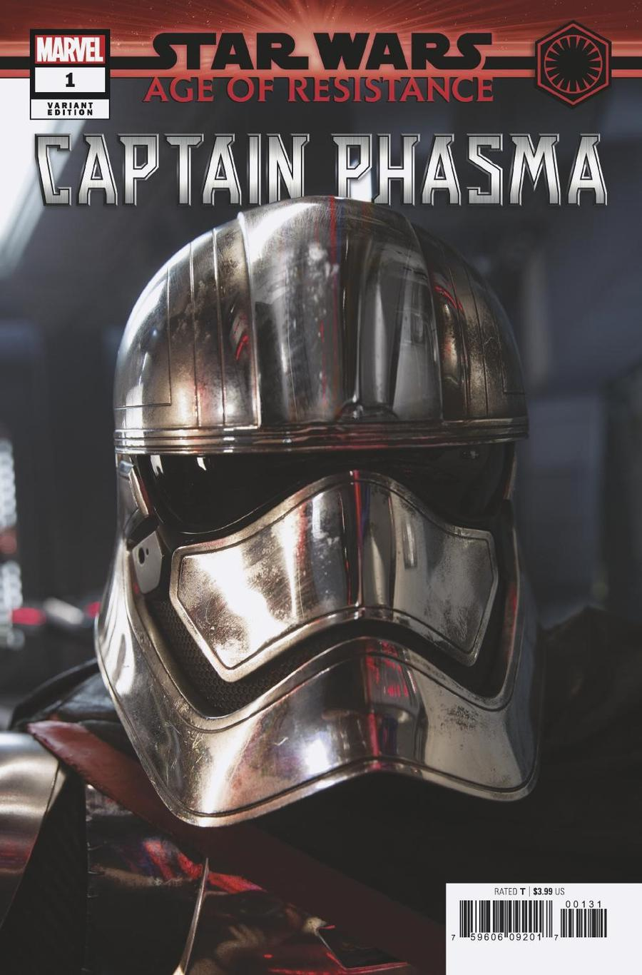 Star Wars Age Of Resistance Captain Phasma #1 Cover D Incentive Movie Variant Cover