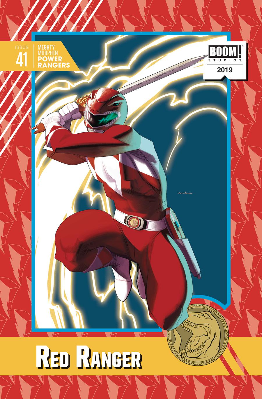 Mighty Morphin Power Rangers (BOOM Studios) #41 Cover D Incentive Kris Anka Variant Cover