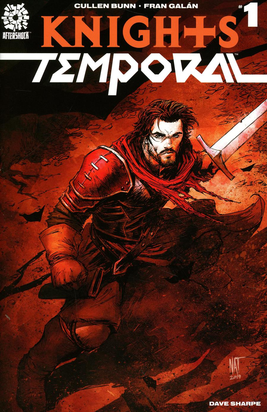 Knights Temporal #1 Cover B Incentive Nat Jones Variant Cover