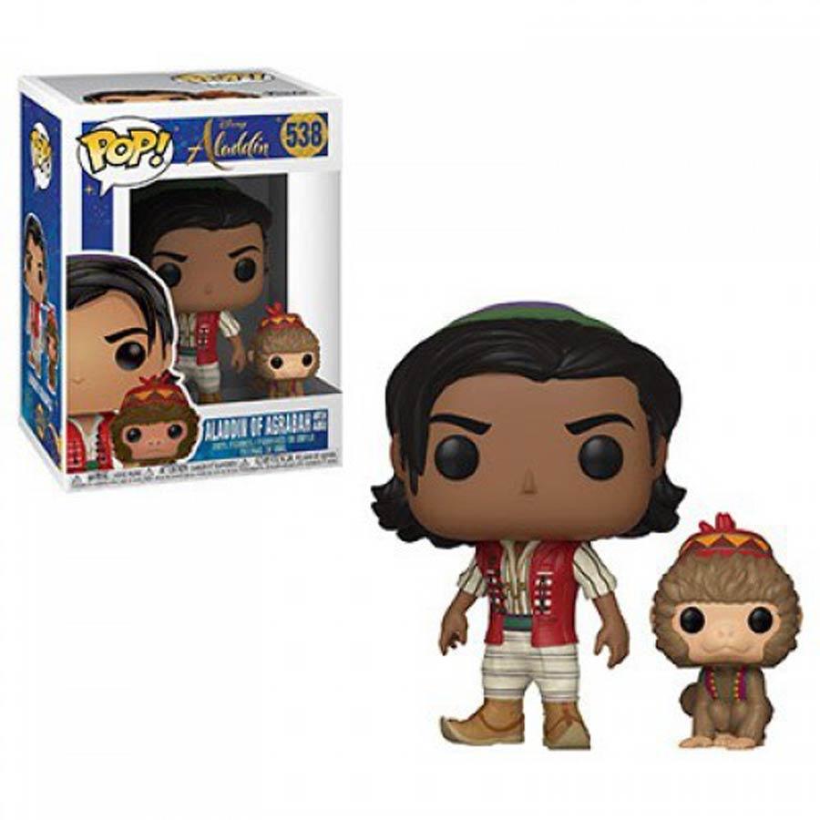POP Disney 538 Aladdin Live Action Aladdin With Abu Vinyl Figure