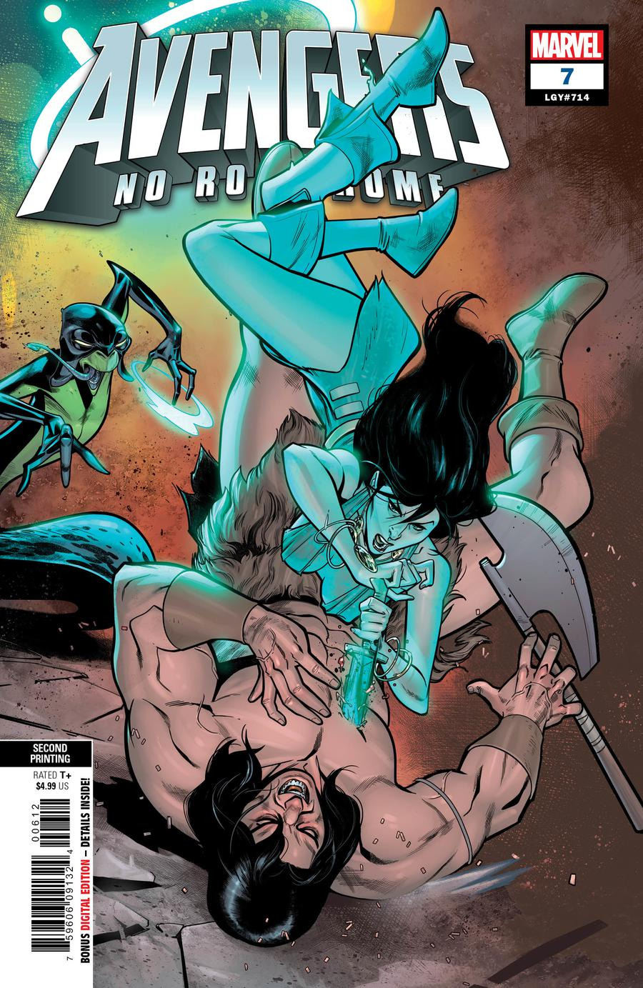 Avengers No Road Home #7 Cover C 2nd Ptg Variant Paco Medina Cover