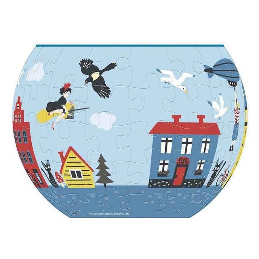 Kikis Delivery Service Art Bowl Jigsaw Puzzle - Kiki Town Of Koriko