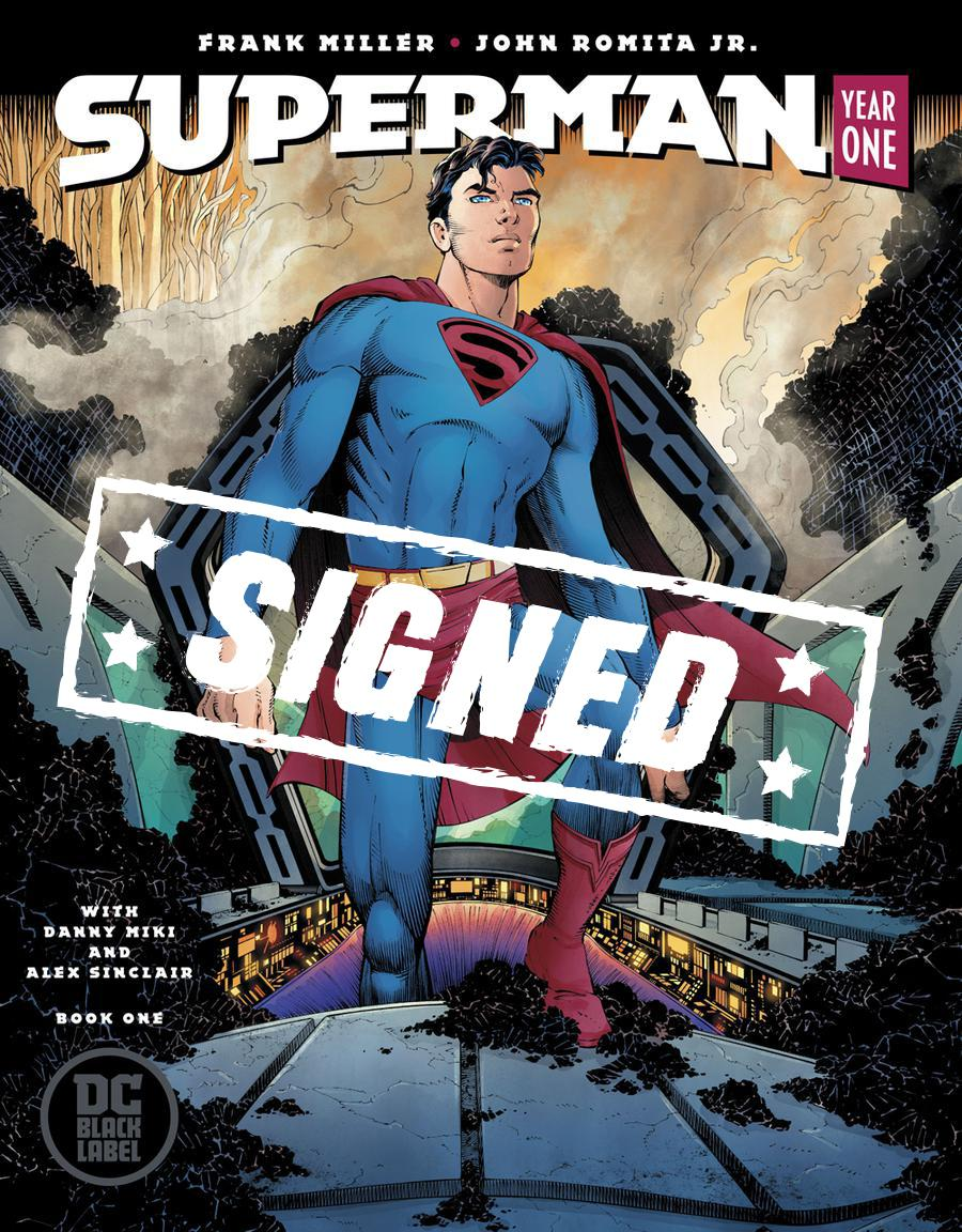 Superman Year One #1 Cover E Regular John Romita Jr Cover Signed By John Romita Jr