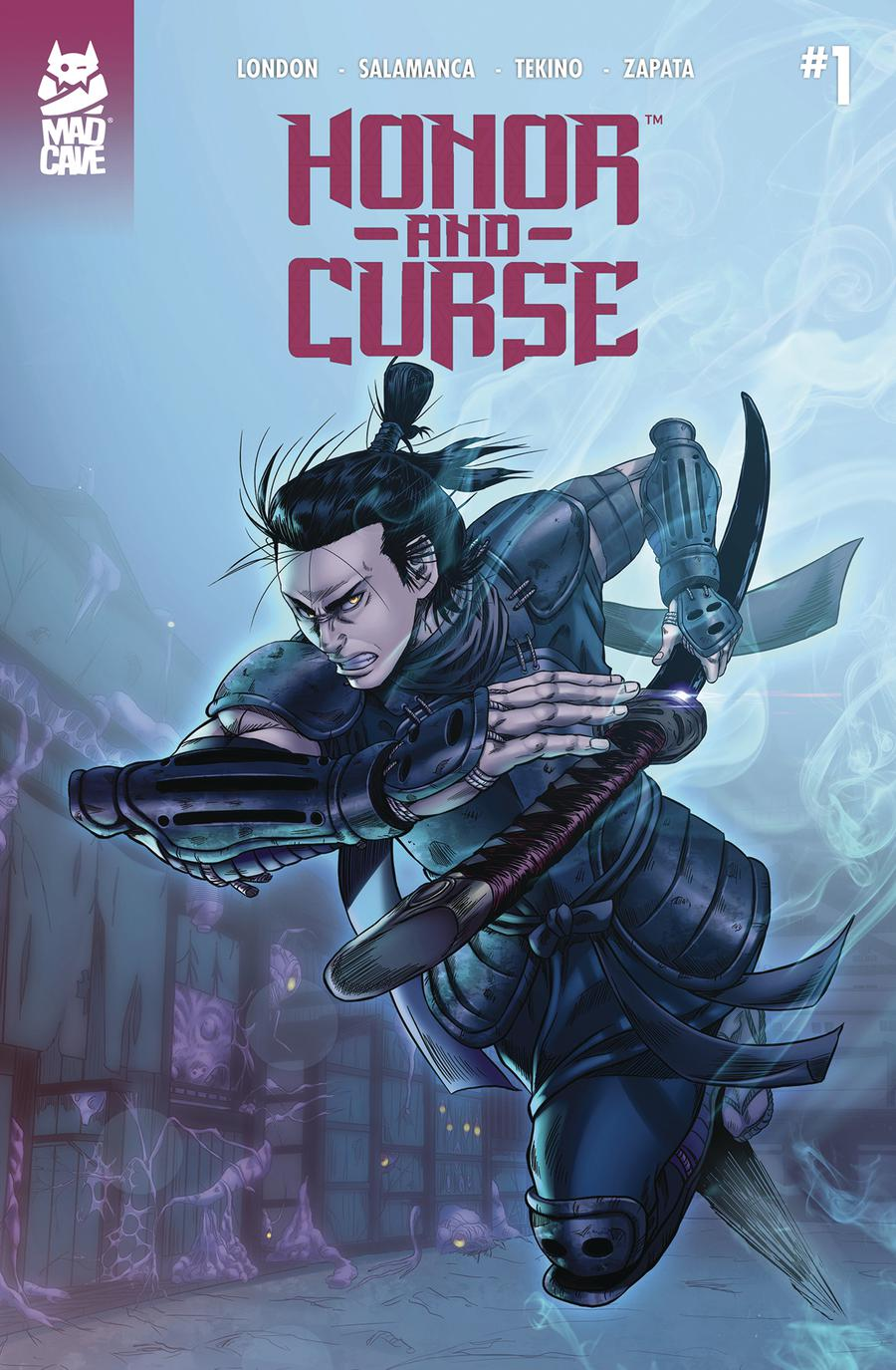 Honor And Curse #1 Cover B 2nd Ptg Variant Nicolas Salamanca Cover
