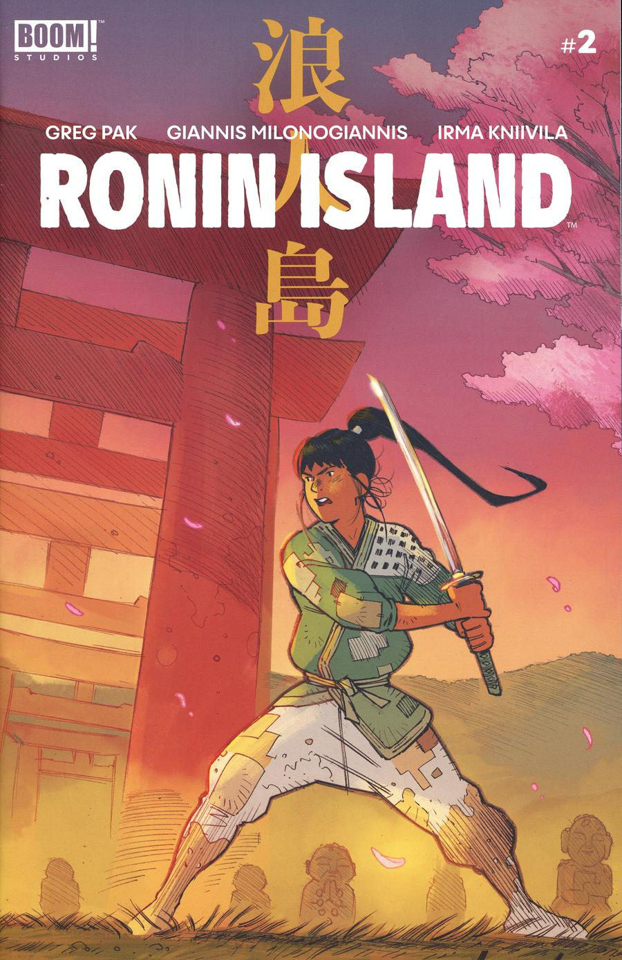 Ronin Island #2 Cover D 2nd Ptg Variant Giannis Milonogiannis Cover