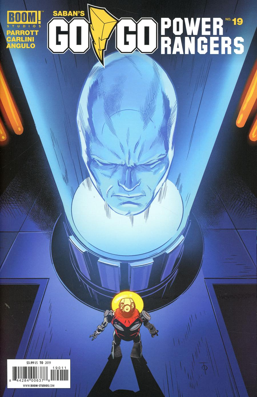 Sabans Go Go Power Rangers #19 Cover A Regular Marcus To Cover