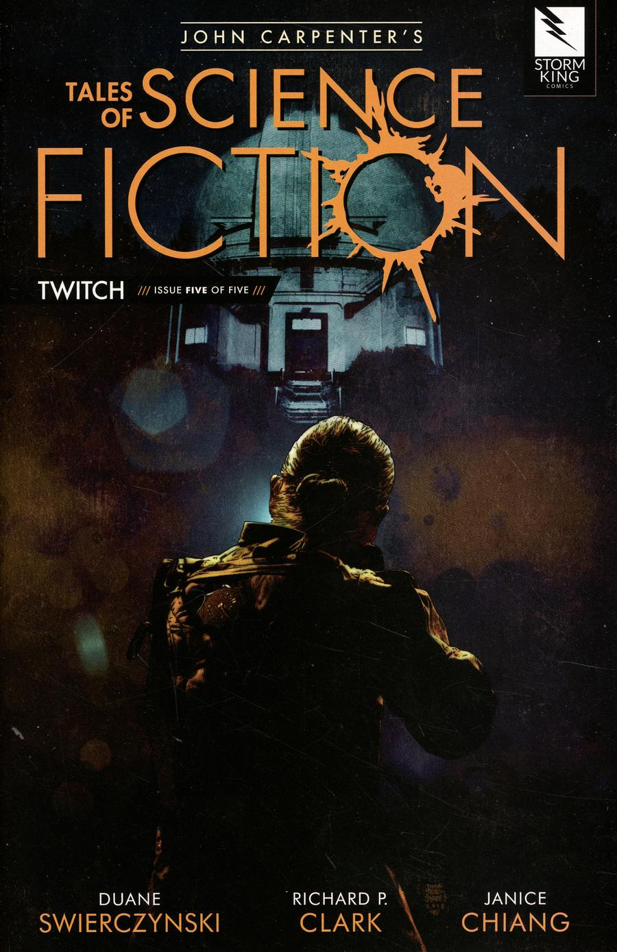 John Carpenters Tales Of Science Fiction Twitch #5 Cover A Tim Bradstreet Black