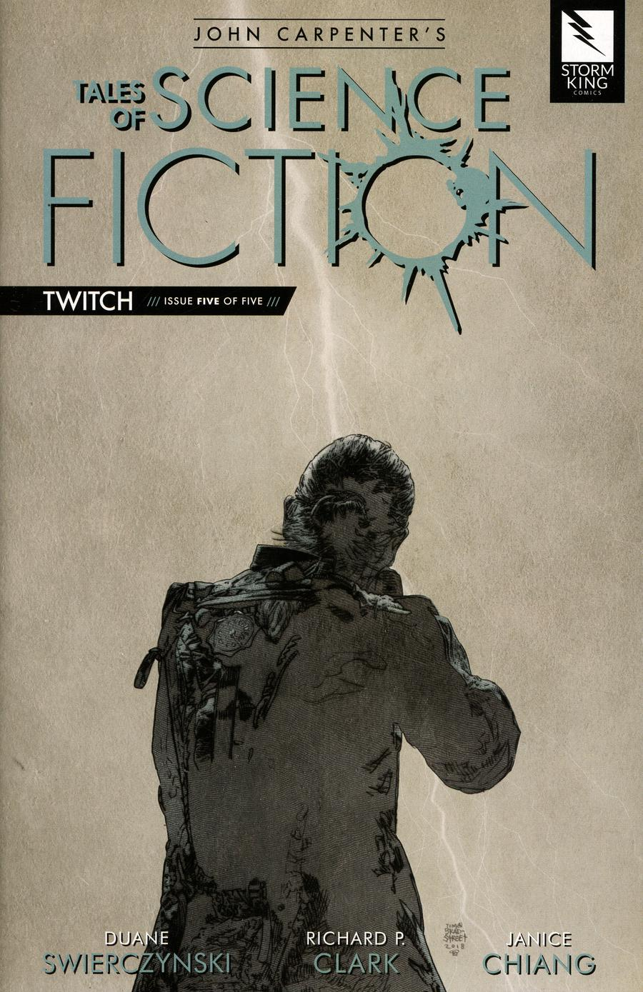 John Carpenters Tales Of Science Fiction Twitch #5 Cover B Tim Bradstreet Gray