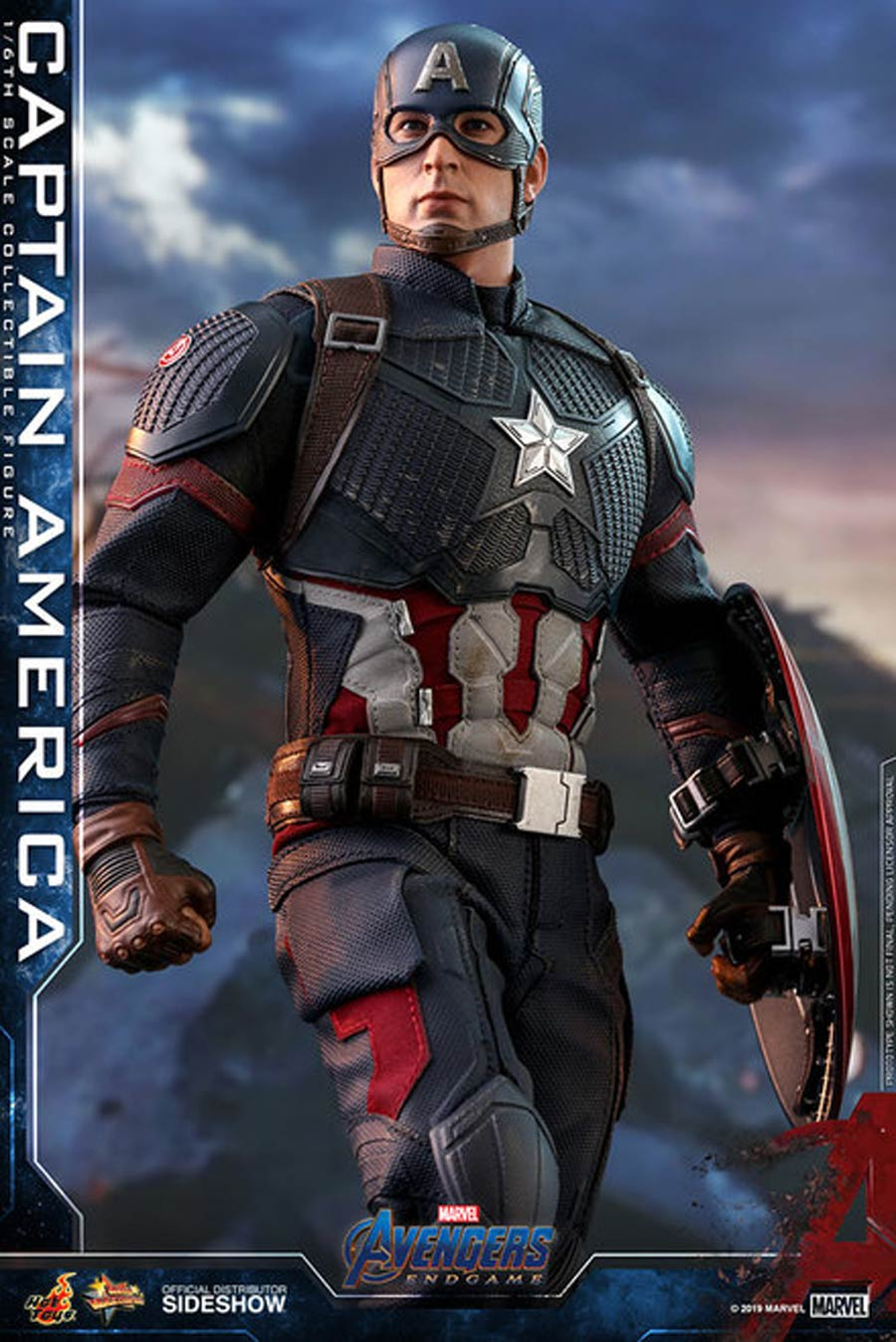 Avengers Endgame Captain America Sixth Scale Figure