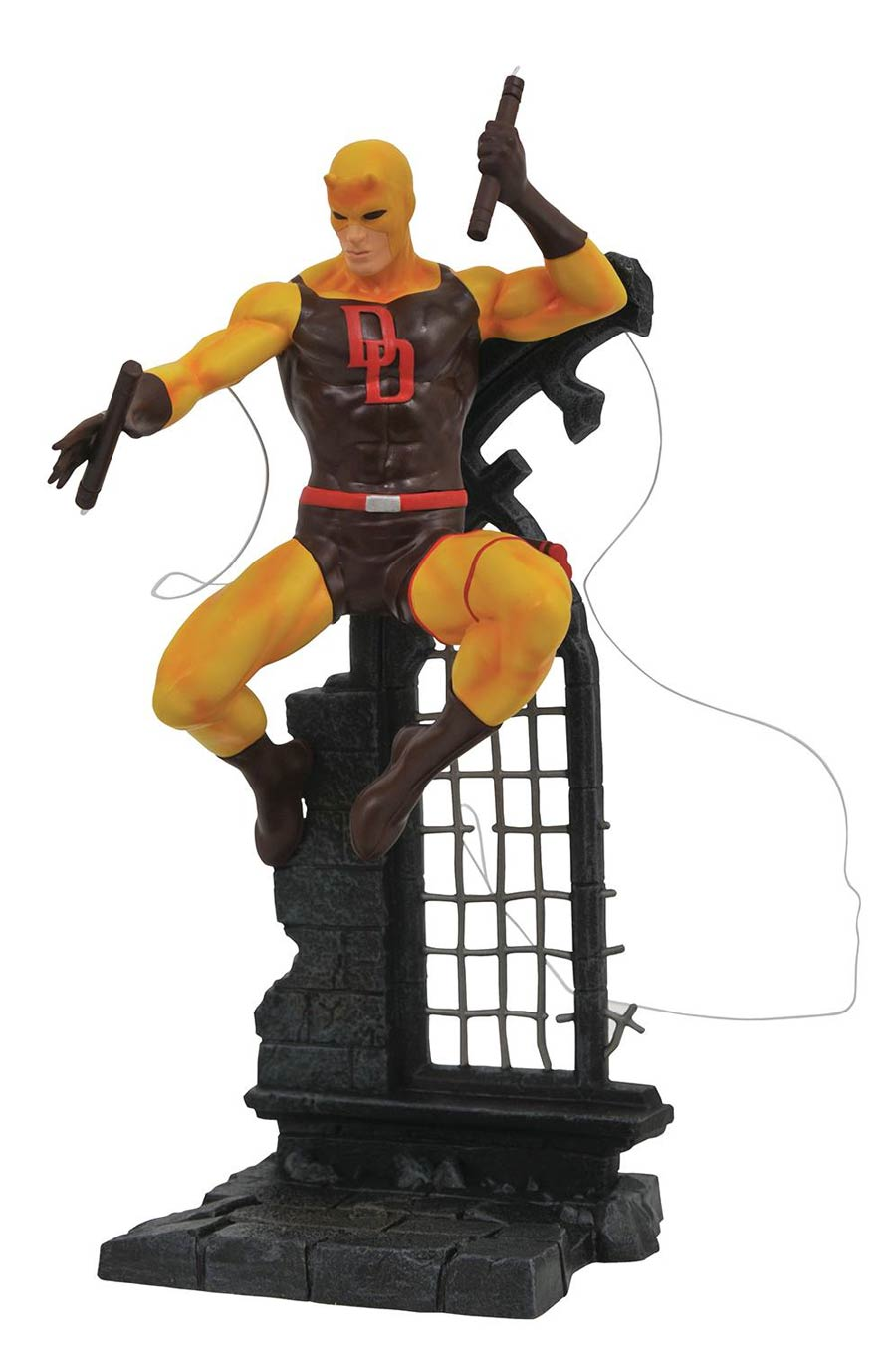 Marvel Comic Gallery Yellow Daredevil Retailer Summit 2019 PVC Figure