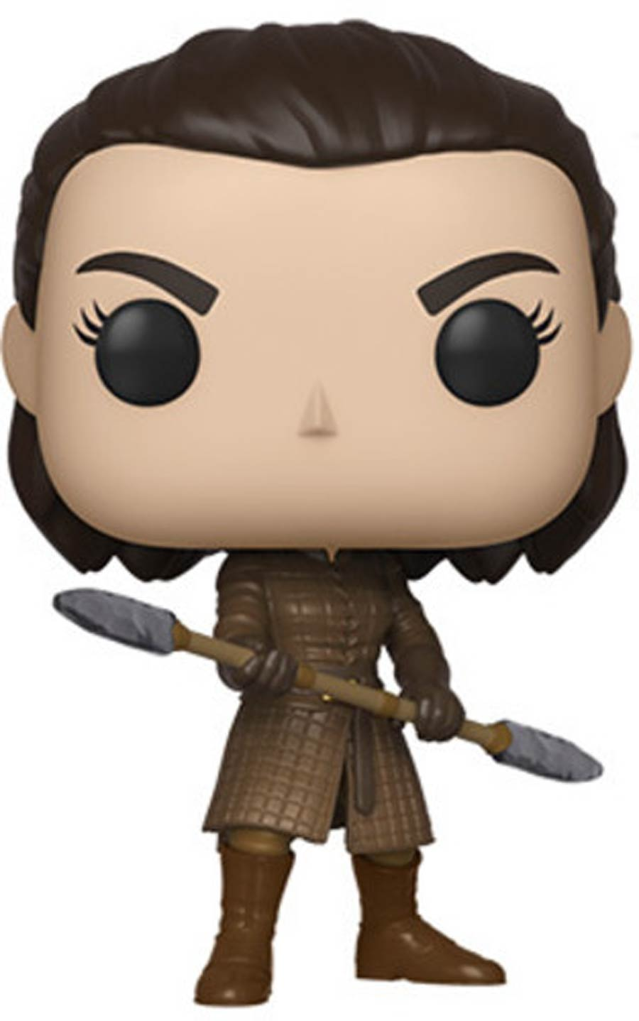 POP Television Game Of Thrones Arya With Two-Headed Spear Vinyl Figure