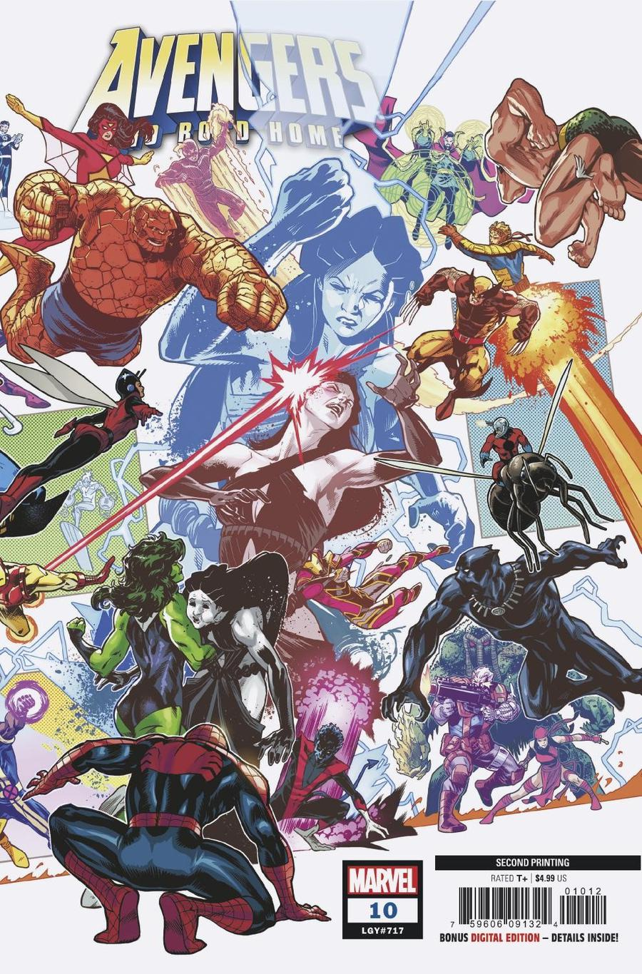 Avengers No Road Home #10 Cover C 2nd Ptg Variant Sean Izaakse Cover
