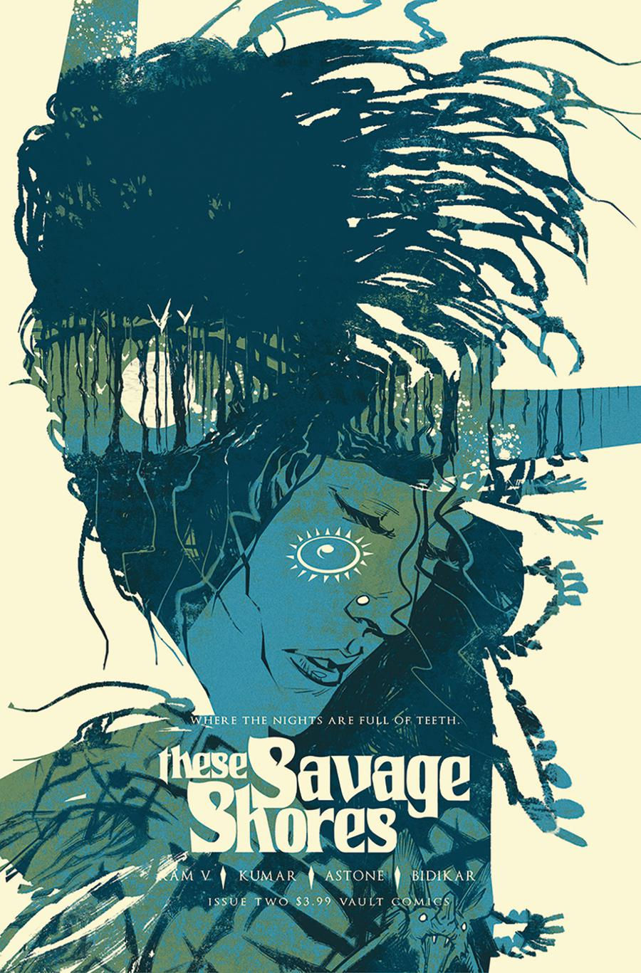 These Savage Shores #2 Cover C 3rd Ptg Variant Sumit Kumar & Tim Daniel Cover