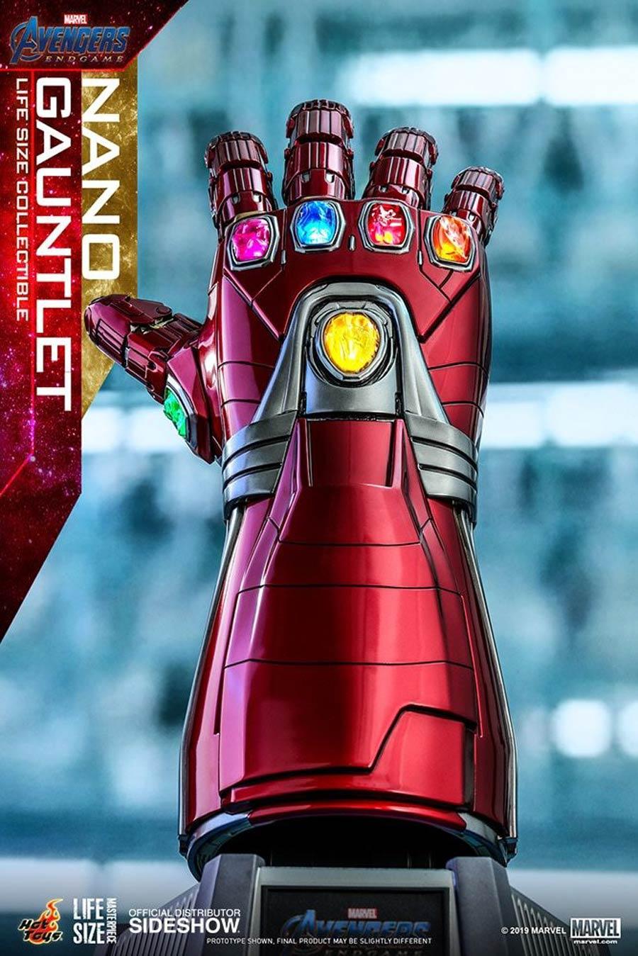 Avengers Endgame Nano Gauntlet Life-Size Replica