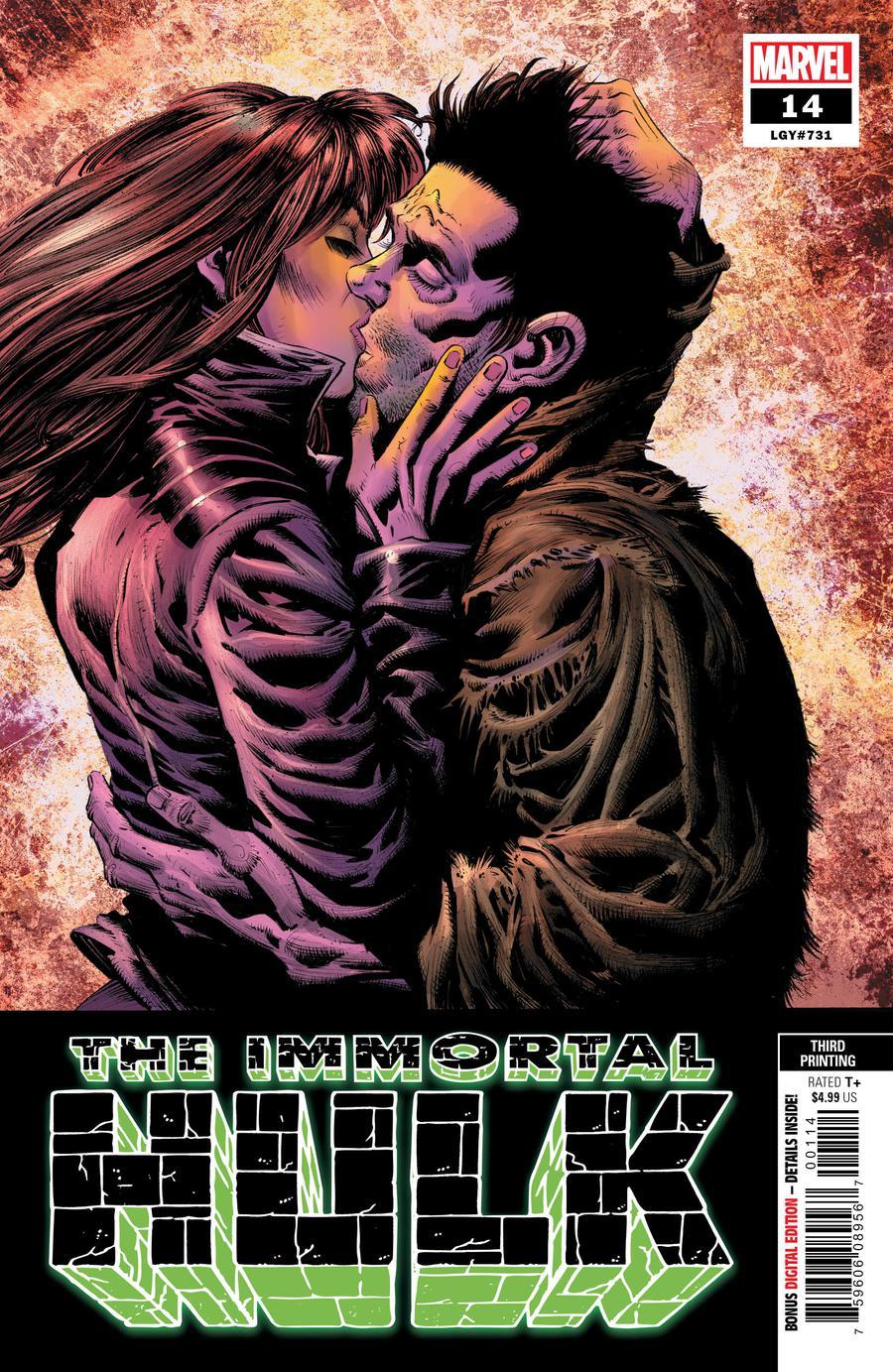 Immortal Hulk #14 Cover D 3rd Ptg Variant Kyle Hotz Cover