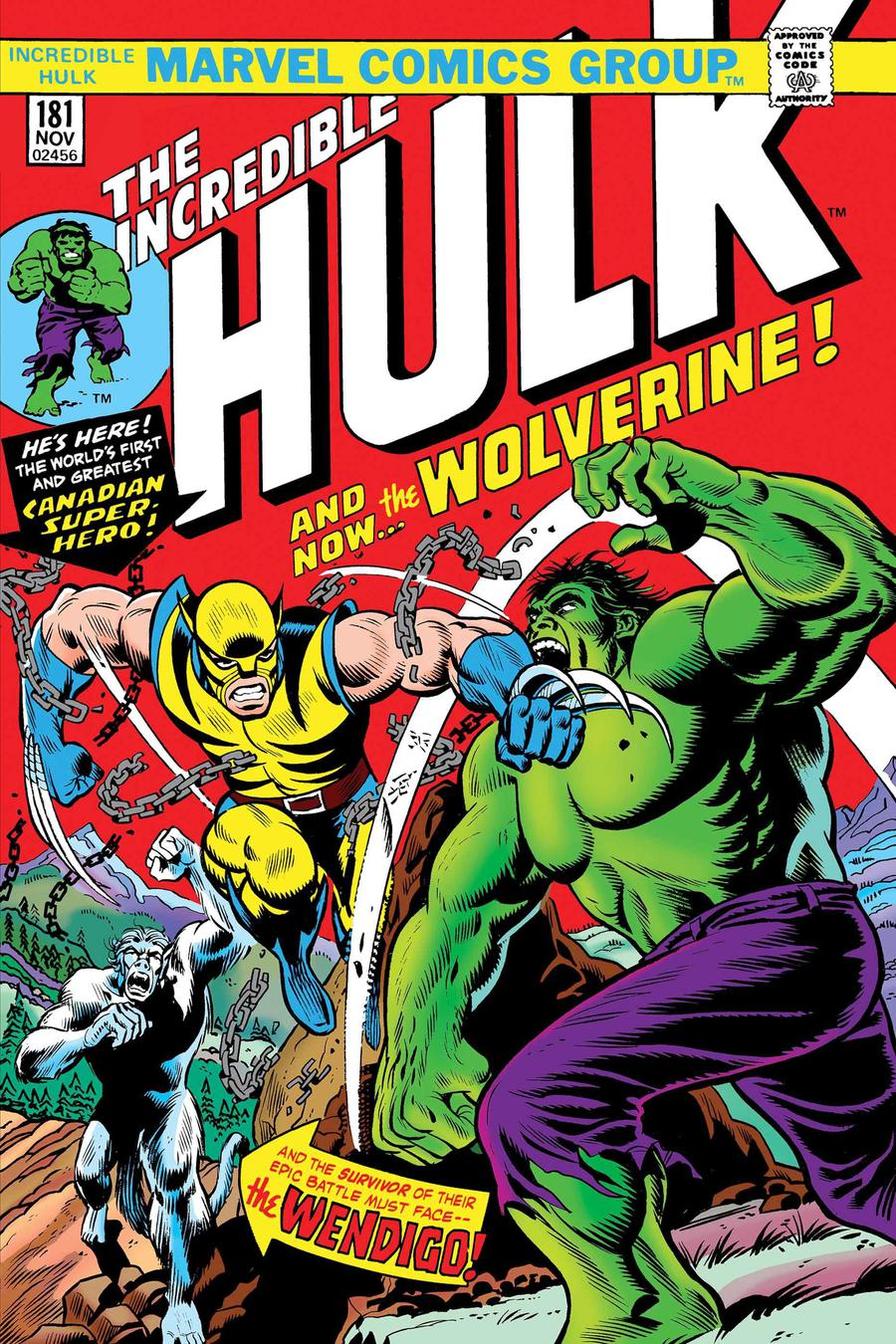 Incredible Hulk #181 Cover D Facsimile Edition New Ptg