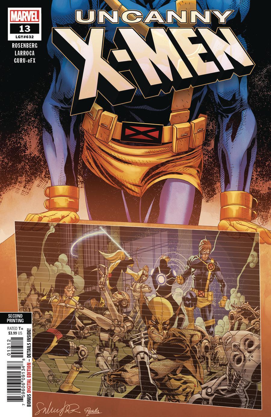 Uncanny X-Men Vol 5 #13 Cover E 2nd Ptg Variant Salvador Larroca Cover