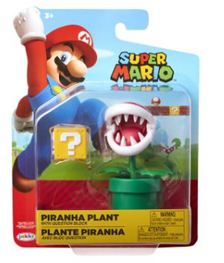 World Of Nintendo 4-Inch Action Figure Wave 14 - Piranha Plant