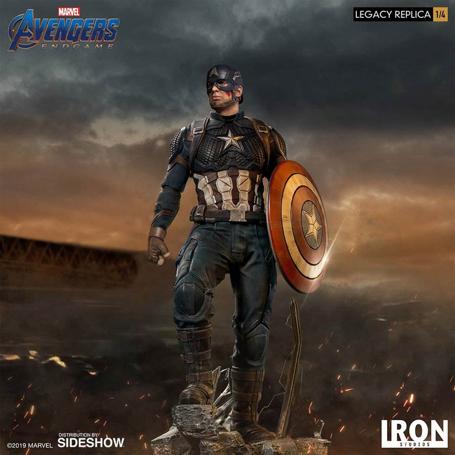Captain America Legacy Replica 1/4 Scale Statue