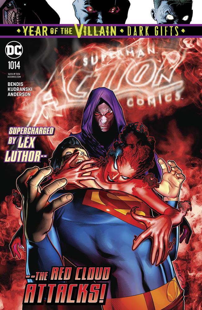 Action Comics Vol 2 #1014 Cover A Regular Brandon Peterson Cover (Year Of The Villain Dark Gifts Tie-In)(Event Leviathan Tie-In)