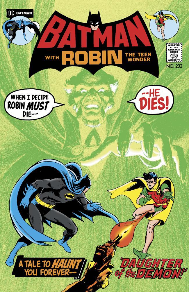 Batman #232 Cover C Facsimile Edition