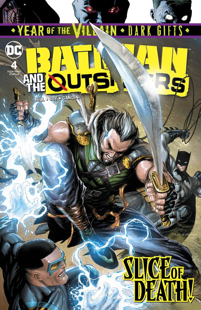 Batman And The Outsiders Vol 3 #4 Cover A Regular Tyler Kirkham Cover (Year Of The Villain Dark Gifts Tie-In)