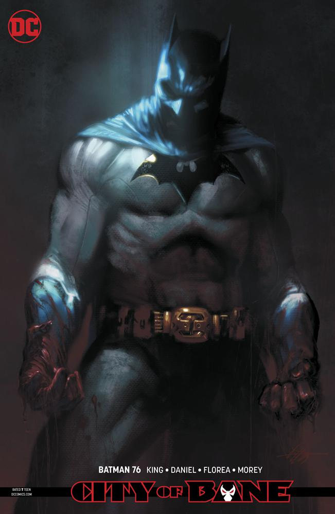 Batman Vol 3 #76 Cover B Variant Gabriele Dell Otto Card Stock Cover (Year Of The Villain Dark Gifts Tie-In)