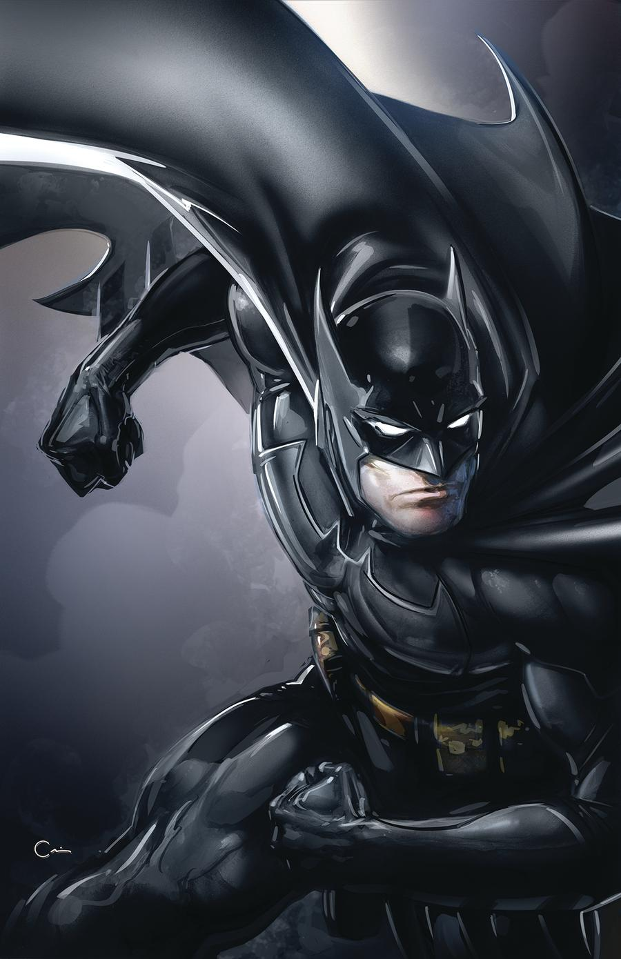 Batman Vol 3 #77 Cover B Variant Clayton Crain Cover (Year Of The Villain Dark Gifts Tie-In)