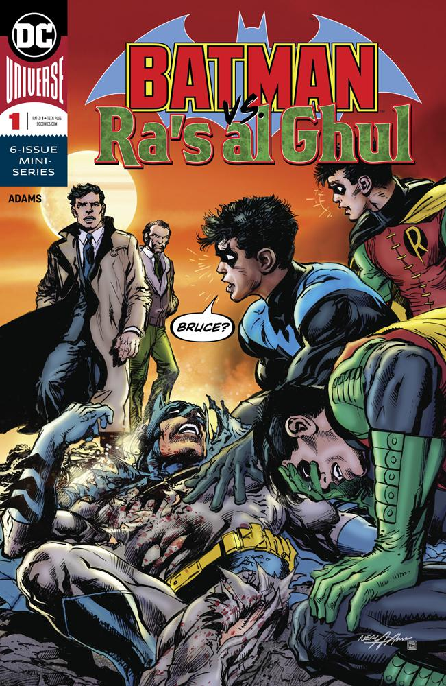Batman vs Ras Al Ghul #1 Cover A Regular Neal Adams Color Cover