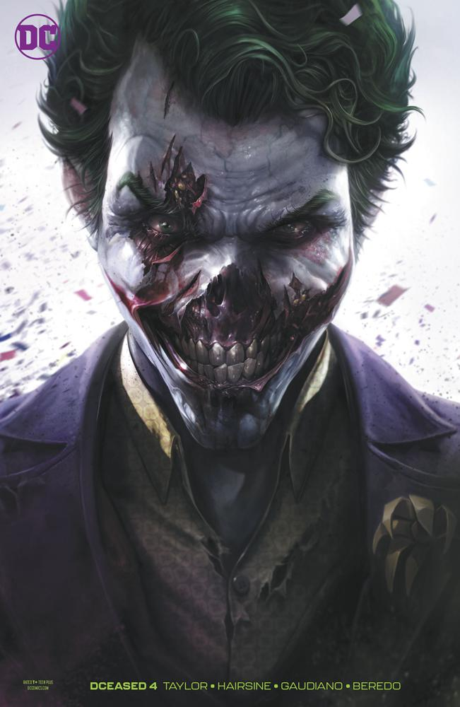 DCeased #4 Cover B Variant Francesco Mattina Card Stock Cover