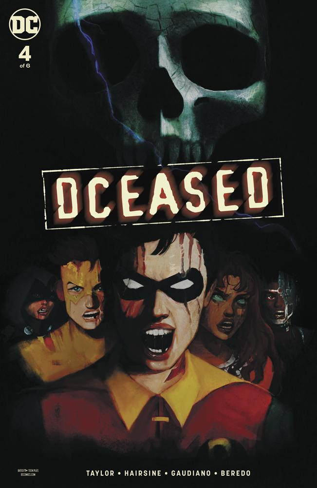 DCeased #4 Cover C Variant Tasia MS Horror Movie Homage Card Stock Cover