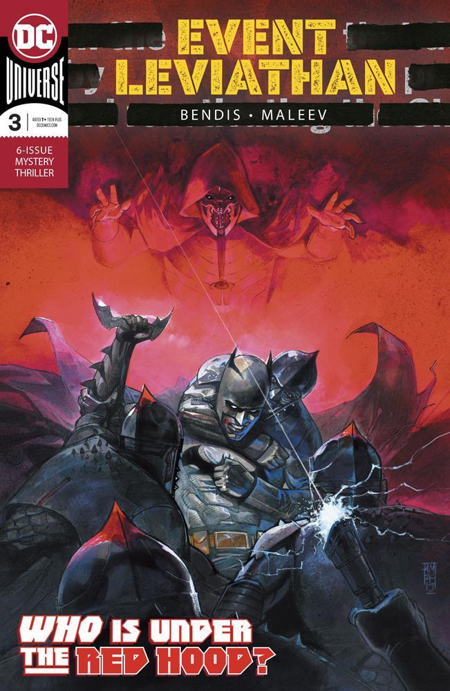 Event Leviathan #3 Cover A Regular Alex Maleev Cover