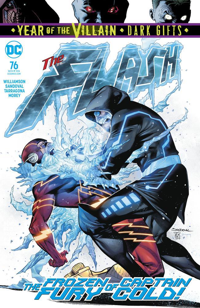 Flash Vol 5 #76 Cover A Regular Rafa Sandoval & Jordi Tarragona Cover (Year Of The Villain Dark Gifts Tie-In)