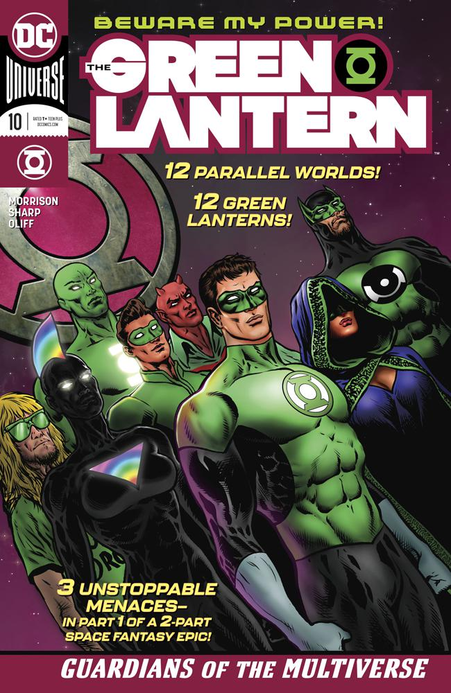 Green Lantern Vol 6 #10 Cover A Regular Liam Sharp Cover