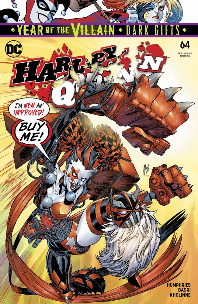Harley Quinn Vol 3 #64 Cover A Regular Guillem March Cover (Year Of The Villain Dark Gifts Tie-In)