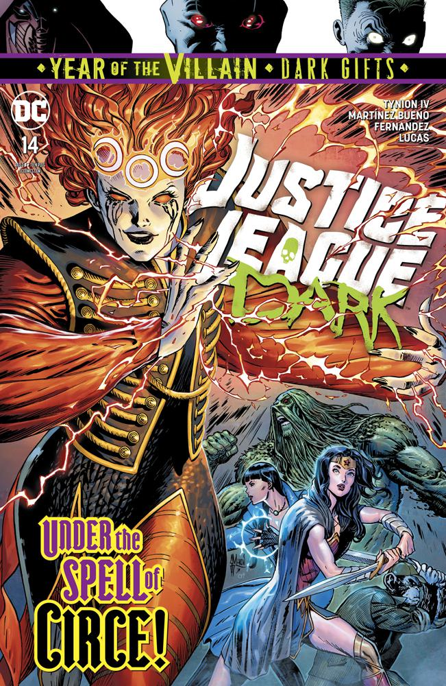 Justice League Dark Vol 2 #14 Cover A Regular Guillem March Cover (Year Of The Villain Dark Gifts Tie-In)