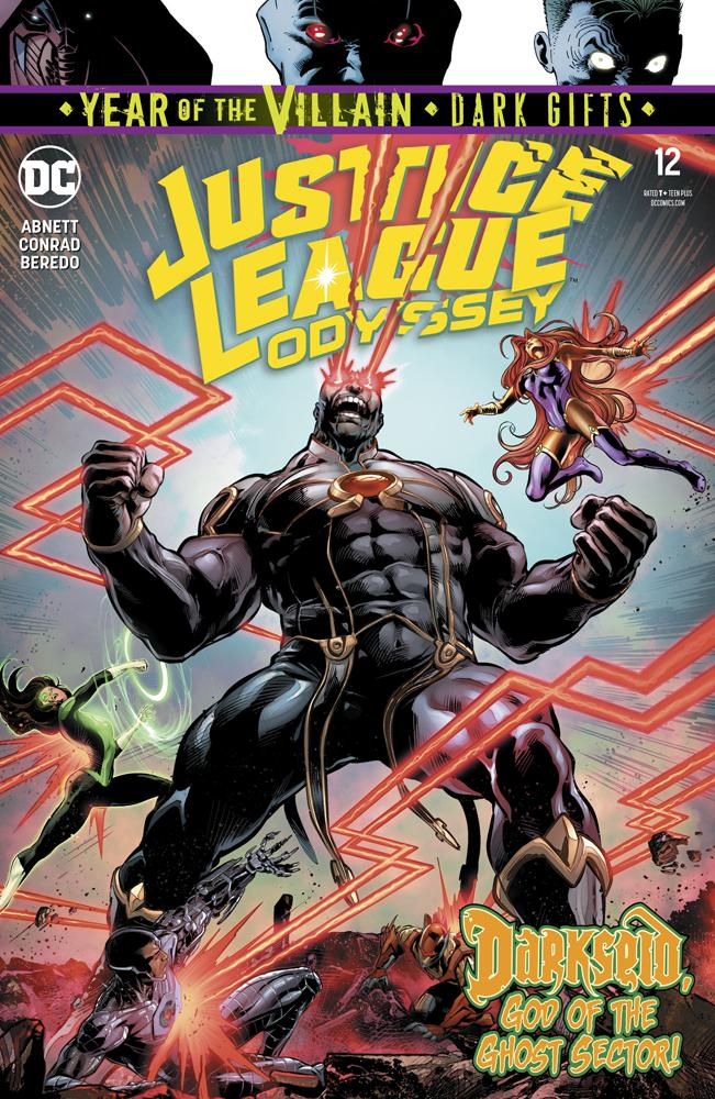 Justice League Odyssey #12 Cover A Regular Will Conrad Cover (Year Of The Villain Dark Gifts Tie-In)