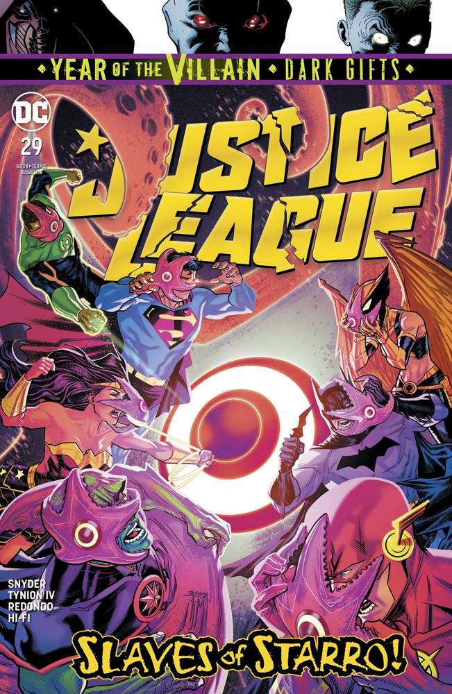 Justice League Vol 4 #29 Cover A Regular Francis Manapul Cover (Year Of The Villain Dark Gifts Tie-In)