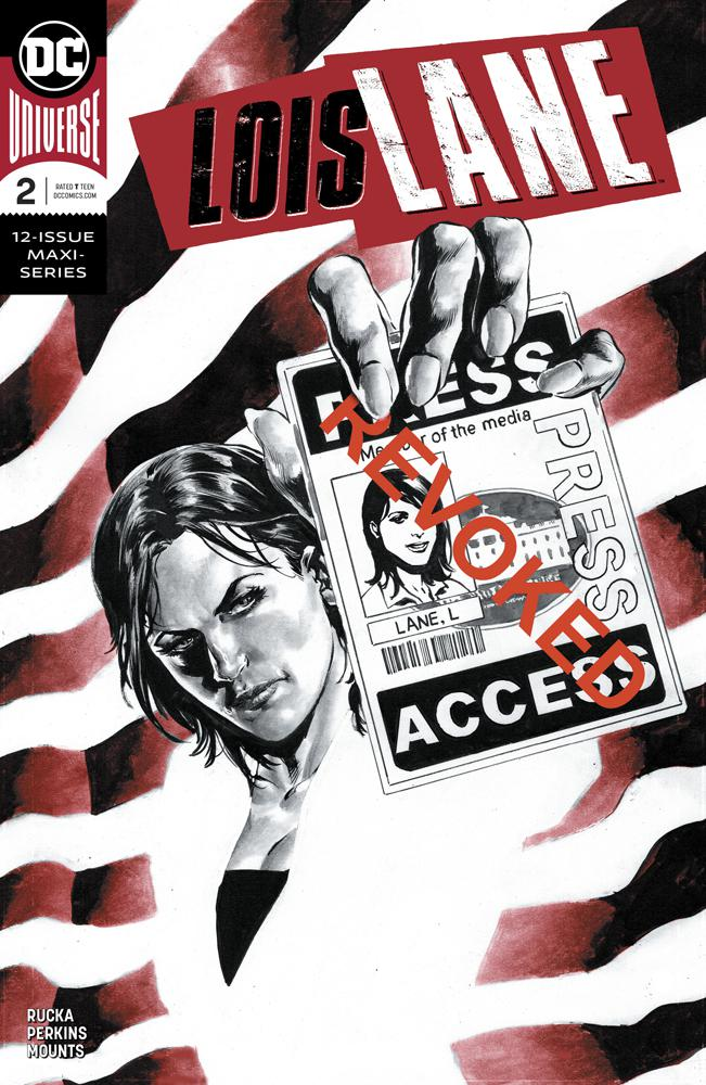 Lois Lane Vol 2 #2 Cover A Regular Mike Perkins Cover