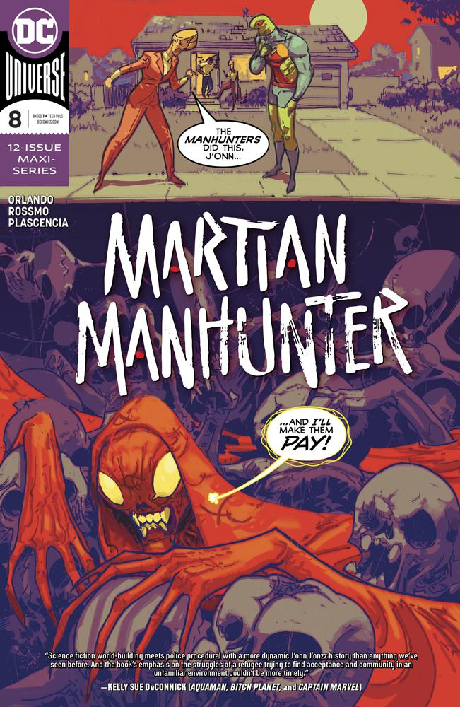 Martian Manhunter Vol 5 #8 Cover A Regular Riley Rossmo Cover
