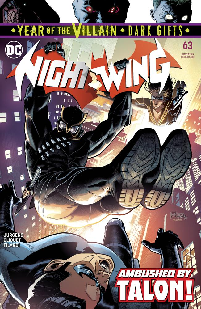 Nightwing Vol 4 #63 Cover A Regular Bruno Redondo Cover (Year Of The Villain Dark Gifts Tie-In)