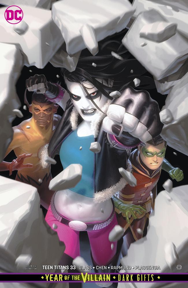 Teen Titans Vol 6 #33 Cover B Variant Alex Garner Cover (Year Of The Villain Dark Gifts Tie-In)