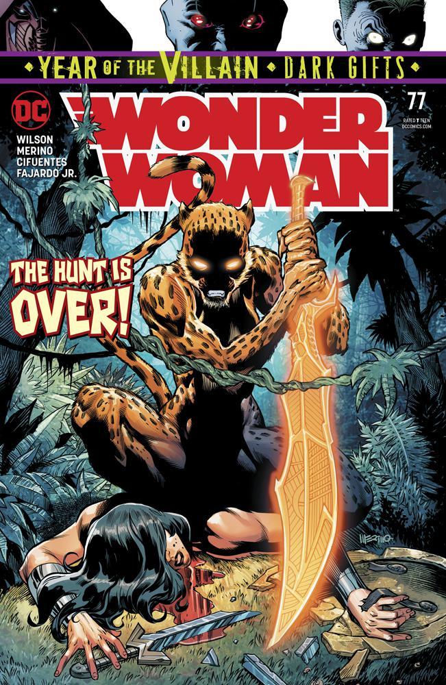 Wonder Woman Vol 5 #77 Cover A Regular Jesus Merino Cover (Year Of The Villain Dark Gifts Tie-In)
