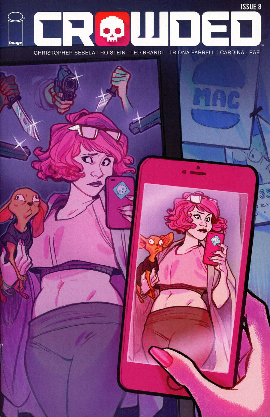 Crowded #8 Cover B Variant MJ Erickson Cover