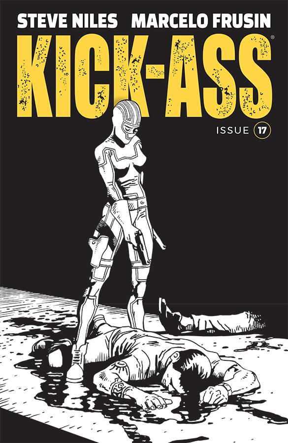 Kick-Ass Vol 4 #17 Cover B Variant Marcelo Frusin Sketch Cover